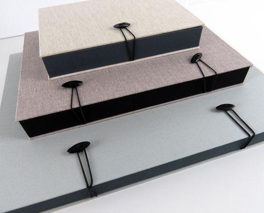 Cajas de presentación de fotografías hechas a mano y a medida www.naranjaymadera.com