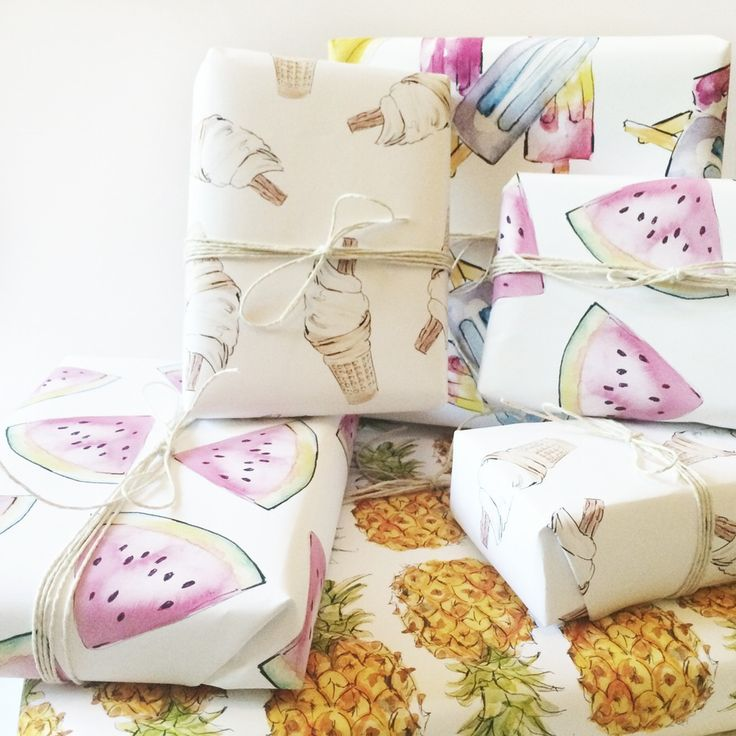 Image of WRAPPING PAPER | Summer Special