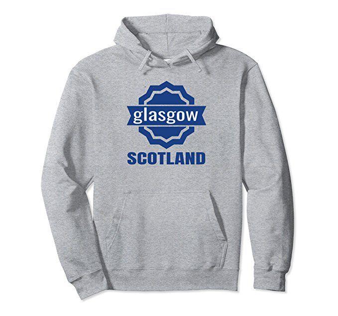 Amazon.com: Awesome Scottish Hoodie for the City of Glasgow Scotland: Clothing #scotland #scottish #hoodie #glasgow #gaelic #outlander #scots