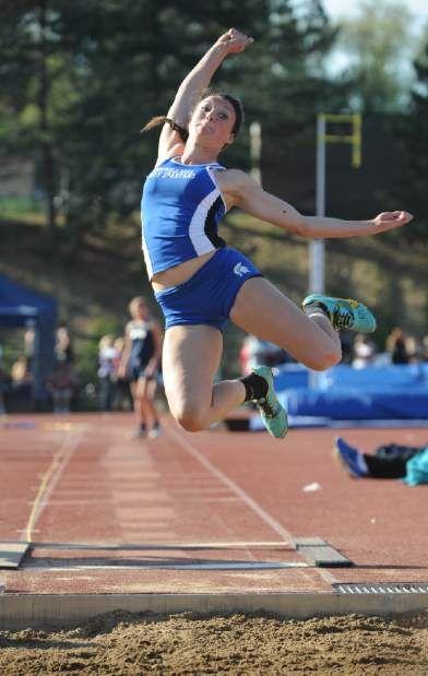 Hempfield track and field | Jumping poses, Human poses ...
