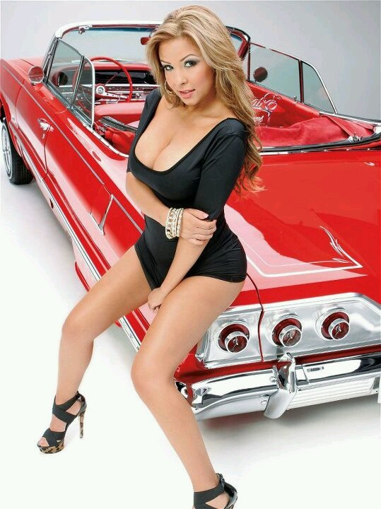 Lowrider girls with big tits