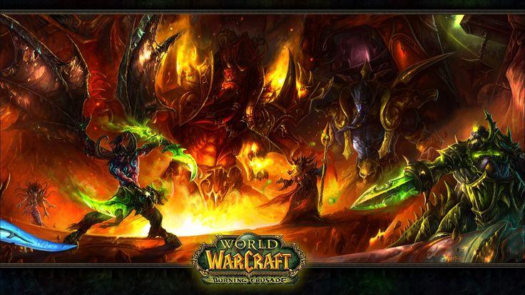 Vídeo Game World Of Warcraft  Lady Vashj Illidan Stormrage Kil'jaeden (World Of Warcraft) Kael'thas Sunstrider Magtheridon (World Of Warcraft) Papel de Parede