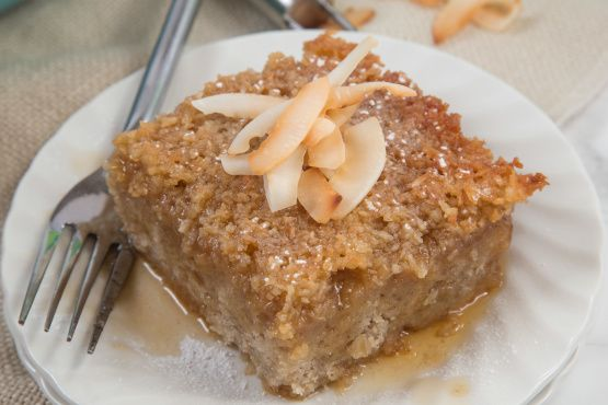 Make and share this Lazy Day Oatmeal Cake recipe from Food.com.