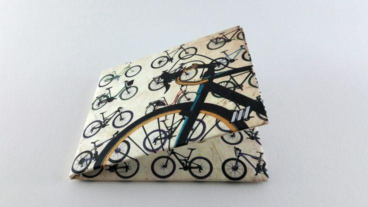 Slim tyvek wallet. Bike design