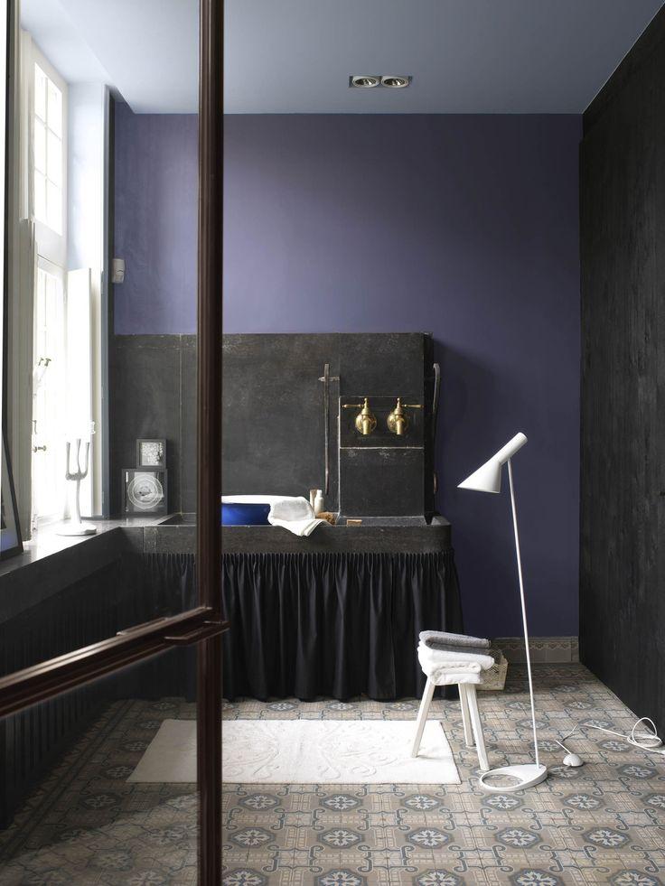 1000 idee n over blauwe badkamer verf op pinterest badkamer verf kleuren badkamer muur - Badkamer blauw ...