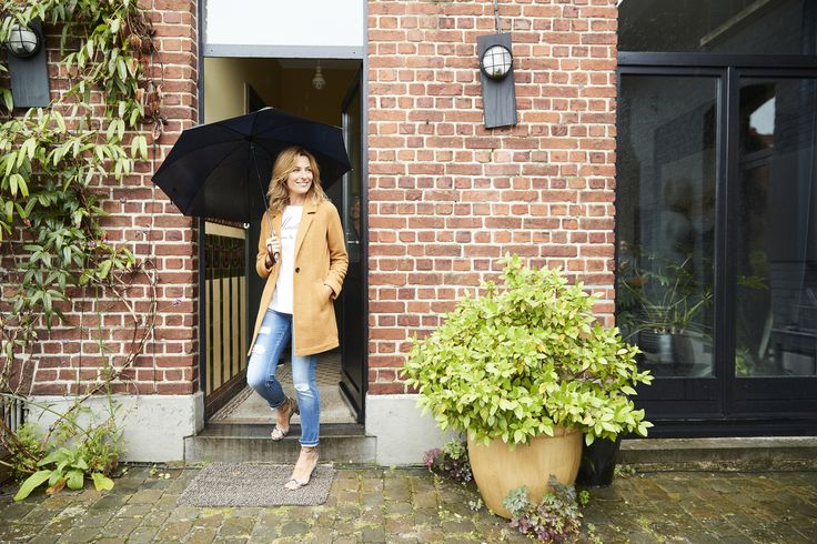 Manteau femme intersaison avec laine