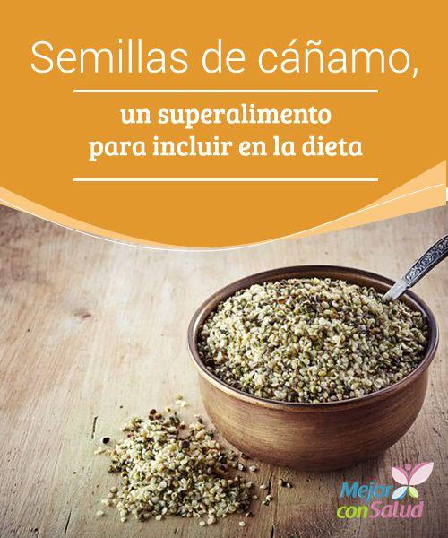 Semillas de cáñamo, un superalimento para incluir en la dieta Aunque es de la familia del cannabis, el cáñamo no contiene sustancias psicoactivas y el consumo de sus semillas es muy beneficioso para nuestro organismo