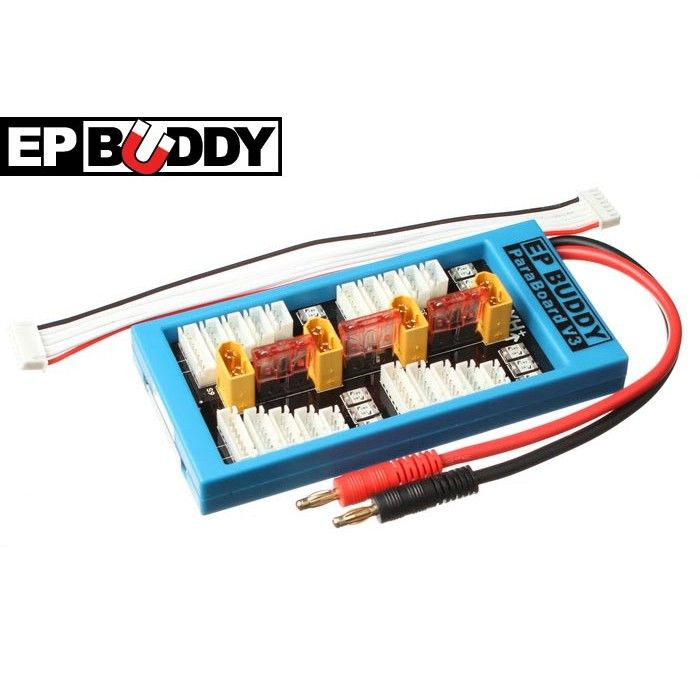 Safe 40A ParaBoard V3 - XH with XT60 - ParaBoard V3 - ParaBoard - Power System