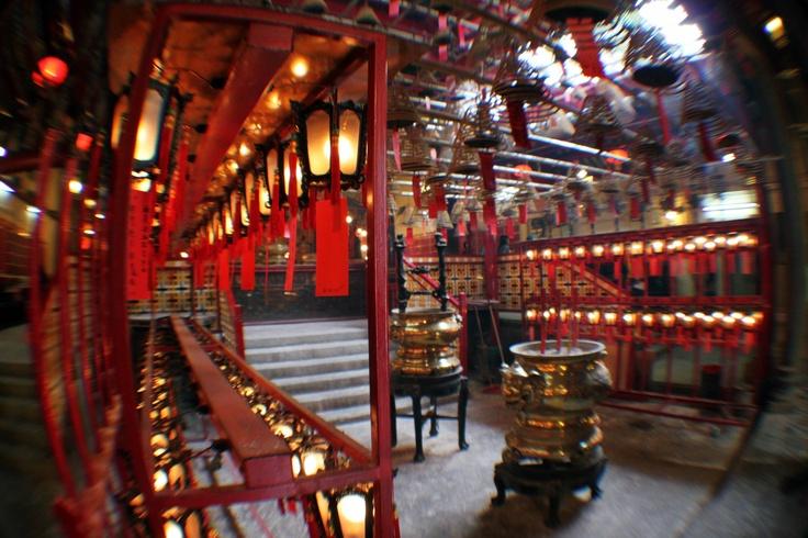 Hong-Kong Man Mo temple