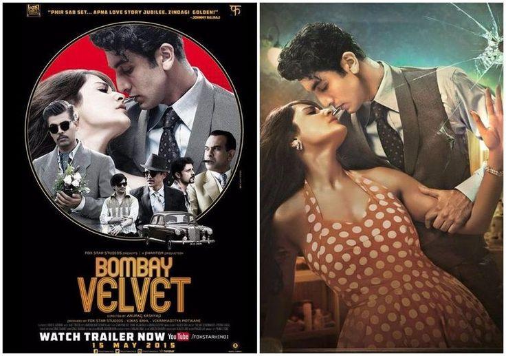 #BombayVelvet film with stars #RanbirKapoor, #AnushkaSharma and Karan Johar which directed by Anurag Kashyap.