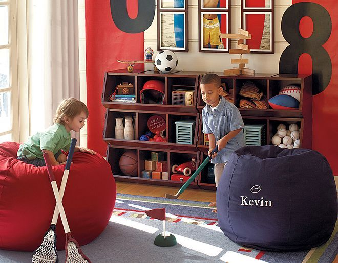 Pottery Barn Kids Sports Playroom