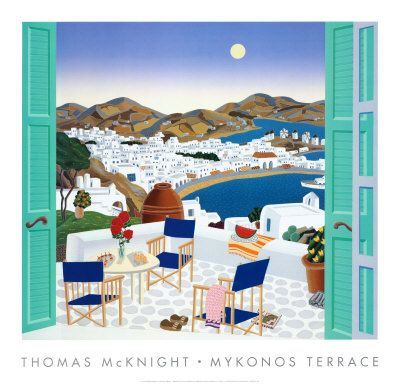 "Thomas McKnight ""Mykonos"""