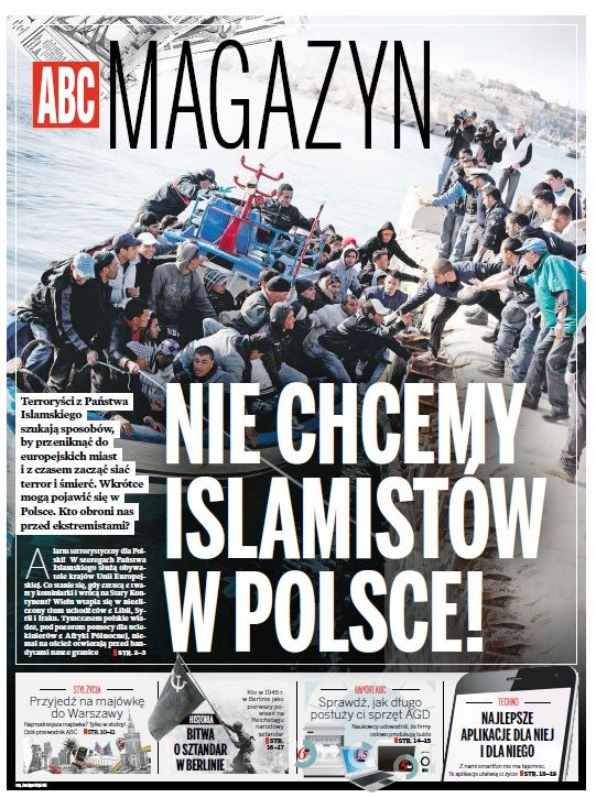 ABC Magazine 2/2 2015 Imigranci Islam Polska