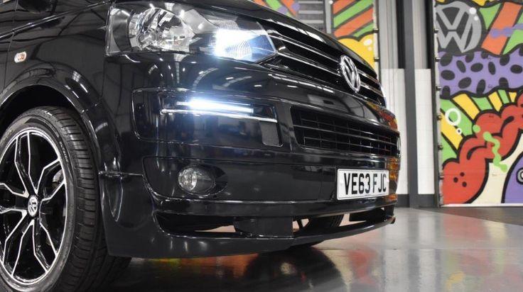 VW Transporter T5 T26 2.0TDI 160ps SWB Kombi Highline Sportline Pack, 2.0 Diesel, Manual, 28,667 miles, deep black metallic, 5 doors, 1 owner at Leighton Vans for £22,995 + VAT.
