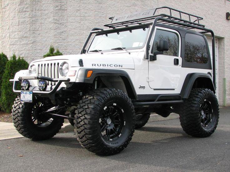 white 97 tj jeep - Google Search