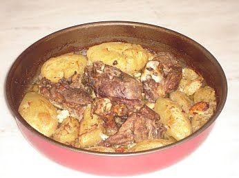 I'm a total sucker for Greek food!  Kleftiko, and anything like it is a firm family fave!    Greek Roast Lamb With Potatoes And Feta Cheese Recipe