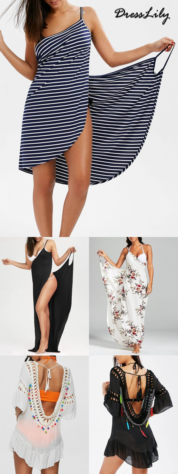 Buy the latest stylish womens cover up at a cheapest price with high quality on dresslily.com | FREE SHIPMENT WORLDWIDE | dresslily,dresslily.com,dresslily swimsuit,dresslily bathing suit,cover up,swimwear,swimsuit,bathing suit,holiday style,beach outfit,beach dress | #dresslily #coverup #swimsuit #dress