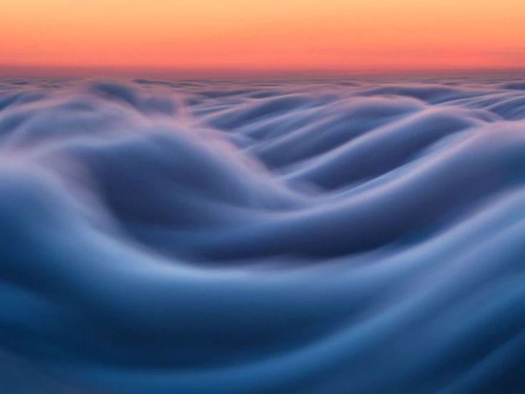 As oníricas ondas de nevoeiro registradas pelo fotógrafo Nick Steinberg 07