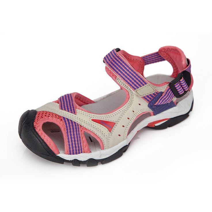 Clorts Women's Sport Sandals 80% PU/ 20% Mesh Athletic Sandals -- Read more  at the image link.