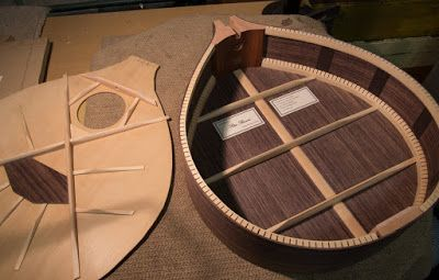 Wood With Strings: Irish Bouzouki - Progress!