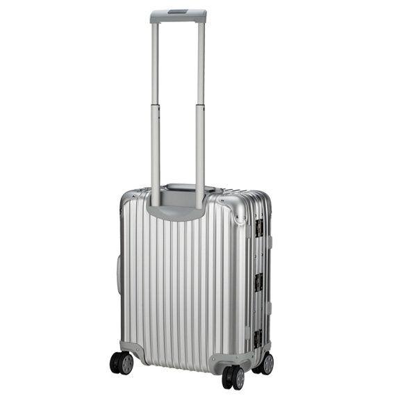 Rimowa Topas Cabin Mulitwheel Trolley 56 cm - silber - koffer-direkt.de