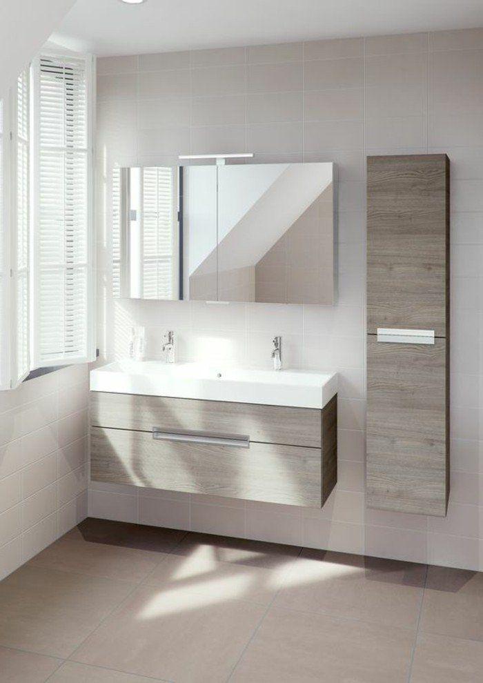 la colonne de salle de bain nos propositions en 58 photos - Meuble Salle De Bain Beige