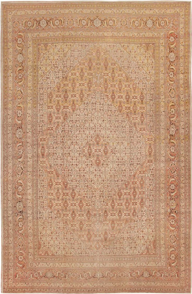 Antique Tabriz Persian Rug 43392 Main Image By Nazmiyal