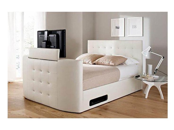 La cama ideal para un fanático de la televisión, en horas de descanso y sobre todo para los adolescentes.
