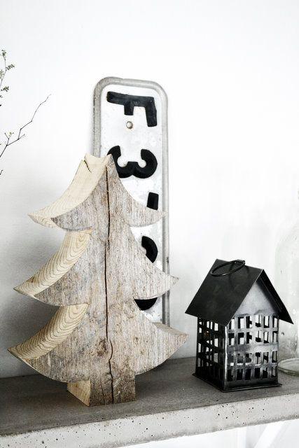 Petit sapin de Noël en bois DIY
