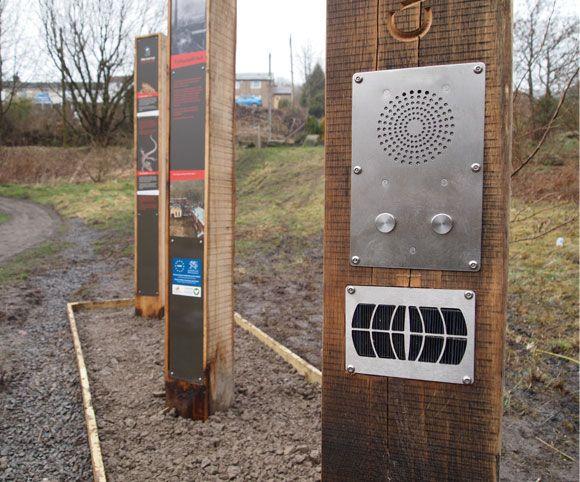 Ebbw Fach Trail Interpretive Trail Signage Interpretation Designers Smith and Jones Design Consultants