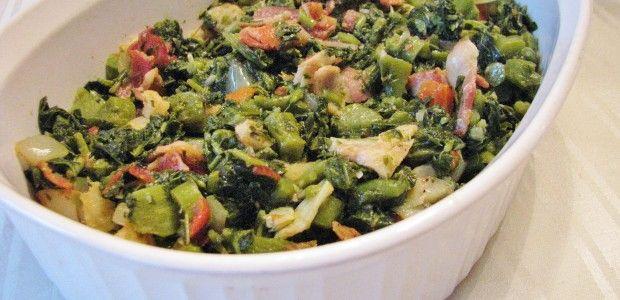 Jamaican Callaloo and Saltfish Recipe | Cook Like a JamaicanCook Like a Jamaican
