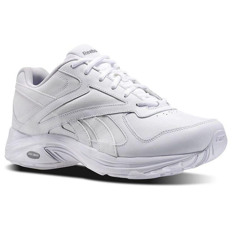 Reebok Walk Ultra V DMX Max Men's Walking Shoes, Size: 11.5 4E, White