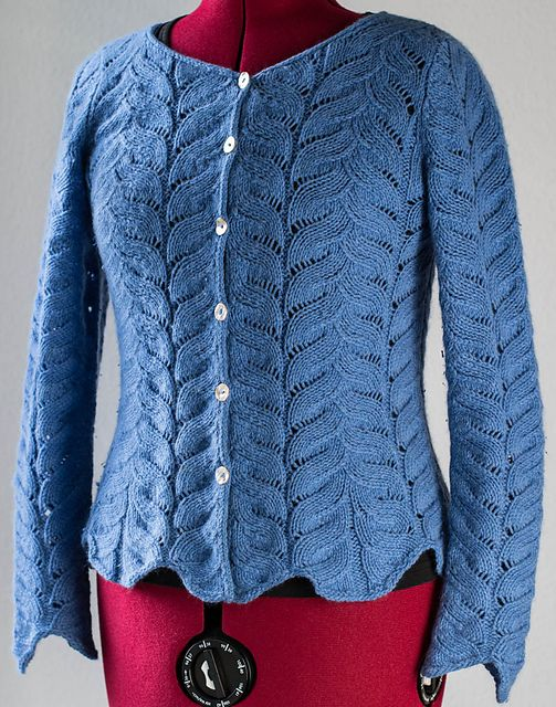Ravelry: Project Gallery for Angel Wing Sweater pattern by Carol Sunday kni...