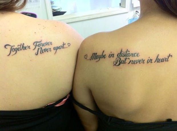 28 Super Copy Worthy Friendship Quote Tattoos For You Your Bff
