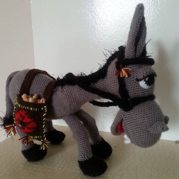 Knitting Pattern For Donkey Hat : 17 beste afbeeldingen over Haakwerk op Pinterest - Gratis ...
