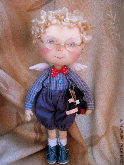 Коллекционные куклы ручной работы. Ярмарка Мастеров - ручная работа Ботаник. Handmade.