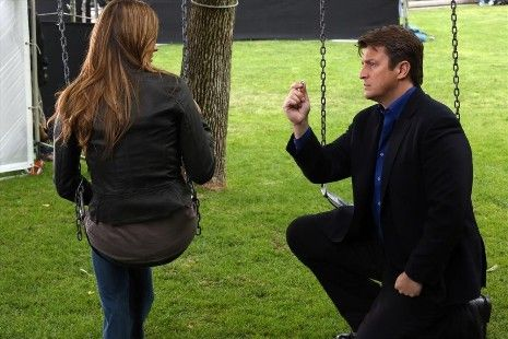 """Does anyone know what will happen in """"Castle"""" Season 6, when Kate Beckett has to answer Rick Castle's Season 5 finale proposal? Not even Nathan Fillion has an answer."""
