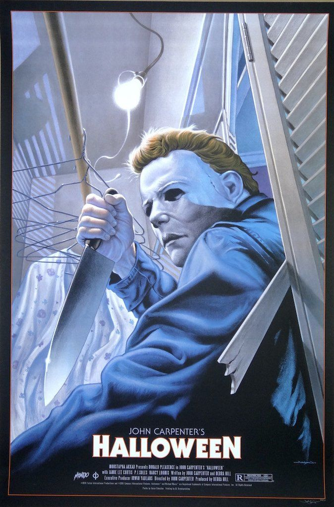 Halloween Reg By Jason Edmistion My Poster Collection Classic