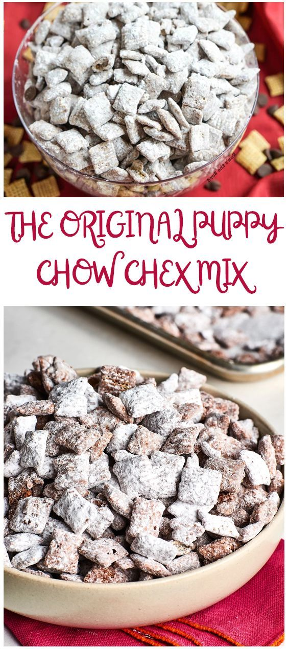 Puppy Chow Chex Mix Recipe For Any Occasion Hertheo Chex Mix Recipes Puppy Chow Recipes Puppy Chow Chex Mix Recipe