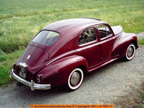 Peugeot 203                                                                                                                                                                                 Plus Coupé (1950)