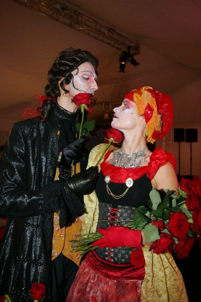 Channing as Casanova . Francesca Krnjaj as 'La Dama'