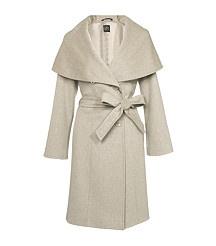 Cinzia Rocca Hooded Coat