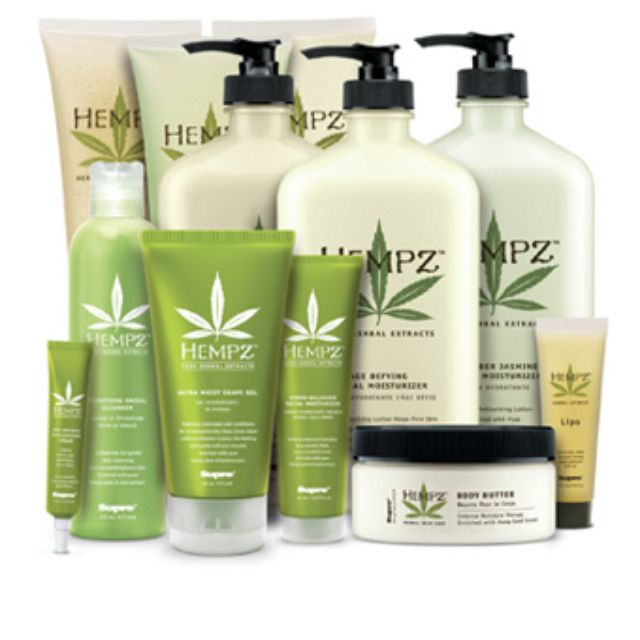 Hempz lotion leaves skin glowing and rejuvenated! I Use the shampoo and conditioner, leaves my hair super healthy and shiny. Love this product!