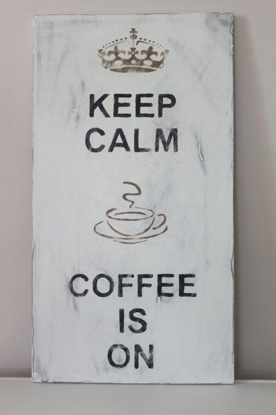 Keep Calm, Coffee is ON! #MrCoffee #Coffee #CoffeeLove #CoffeeHumor