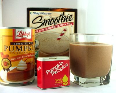 Weight Watchers Smoothie Packs with a little extra spice