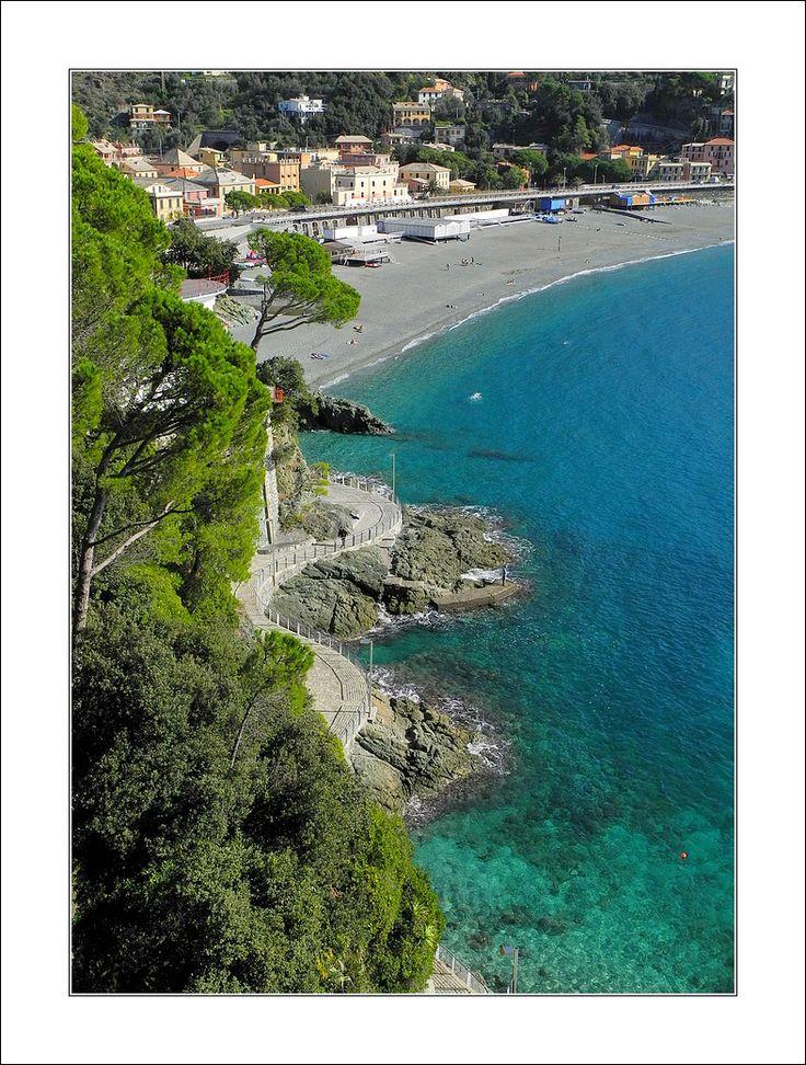 Bonassola beach - Bonassola, La Spezia, Italy