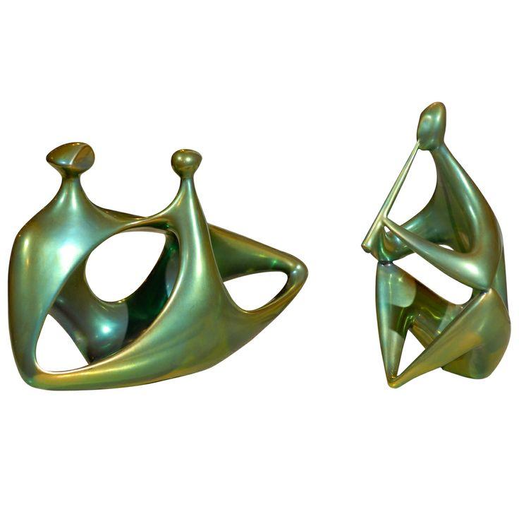 Zsolnay Ceramic Figures