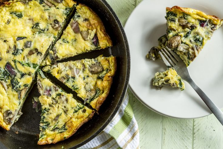 Spinach & Mushroom Frittata – Kayla Itsines