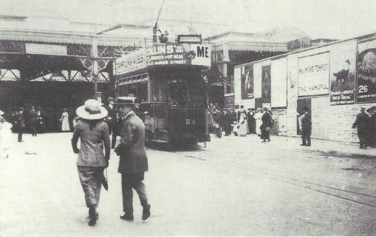 Brighton Station in the 1900s (May be even sooner)