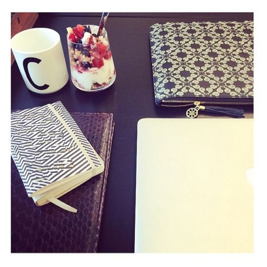 Be ready for another busy week with our gorgeous printed cover for your laptop just like Christiane Schaumberg-Müller.
